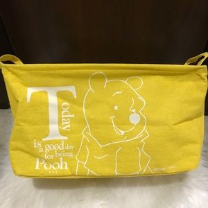 💛 Disney Daiso Winnie the Pooh Cloth Storage Box